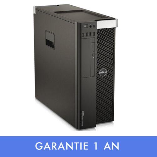 T5610 PRECISION Dell xeon e5-2620 32 go ram 480 go ssd + 1 to – quadro 4 go – Garantie 12 mois