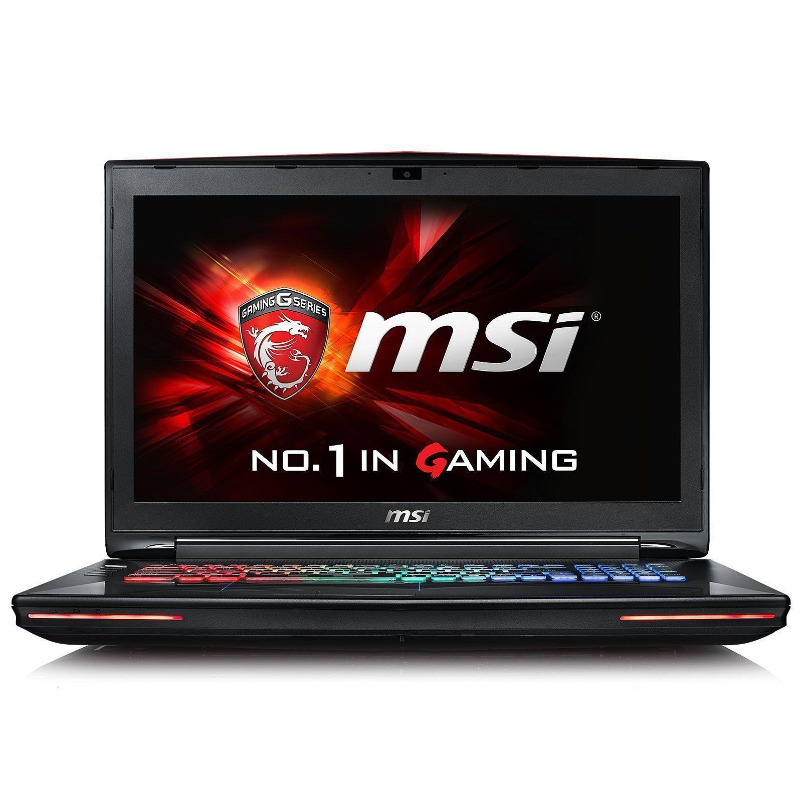 Dominator Pro GT72S 17″ MSI Core i7-6820HK – SSD 1To + HDD 1 To – 64 Go – GeForce GTX 980 8Go – Prix d'origine 3390€ – NEUF